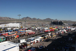 Vendors and fans area at Las Vegas Motor Speedway
