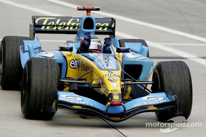 9º Fernando Alonso - 18 carreras - De Turquía 2005 a Alemania 2006 - Renault