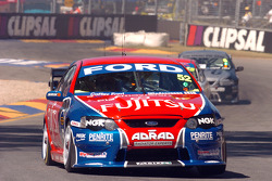Steve Owen gets his first taste of the Clipsal 500