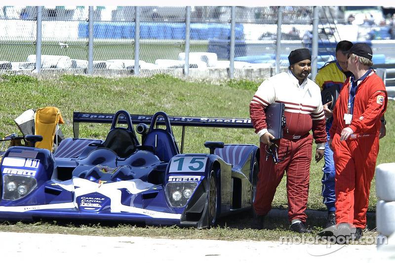 #15 Binnie Motorsports Lola B05/42 Nicholson McLaren