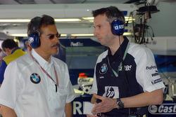 Dr Mario Theissen and Matthias Klietz