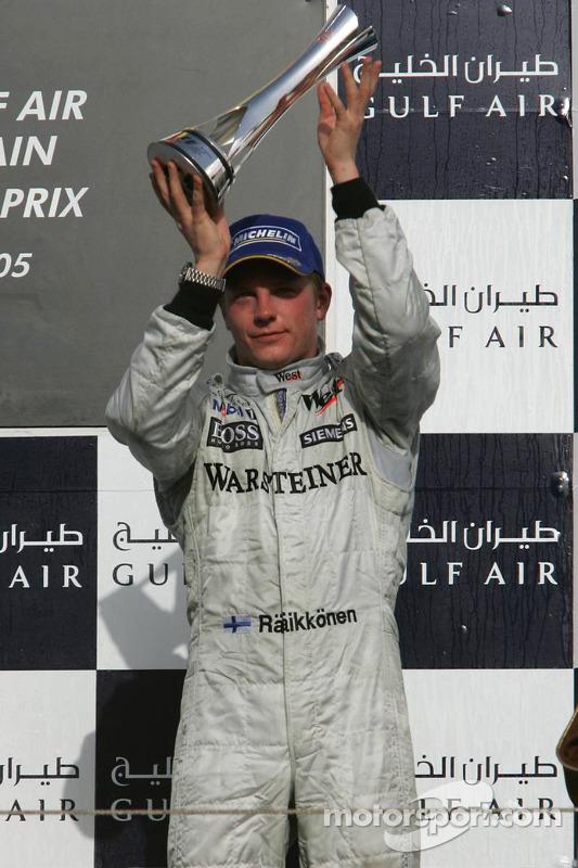 Podio: Kimi Raikkonen