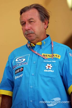 Jean-François Caubet, managing director of Renault Sport F1