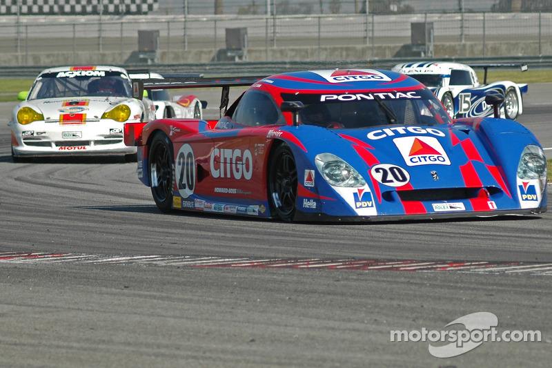 CITGO - Howard - Boss Motorsports Pontiac Crawford : Milka Duno, Paul Edwards, Chris Dyson