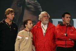 David Sears, Nicolas Todt, Enrique Scalabroni and Paolo Coloni