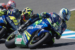 Sete Gibernau lidera a Valentino Rossi