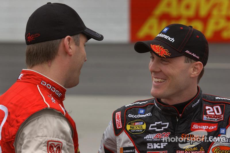 Jeremy Mayfield and Kevin Harvick