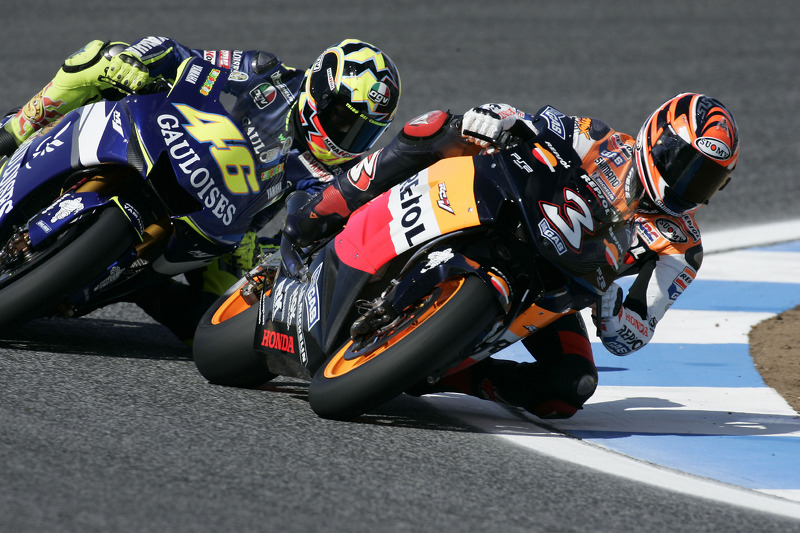 La última temporada de MotoGP de Max Biaggi