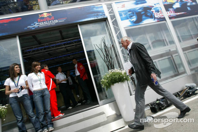 Dietrich Mateschitz, dueño de Red Bull Racing