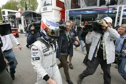 A disappointed Kimi Raikkonen