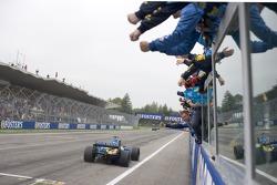 El ganador de la carrera, Fernando Alonso
