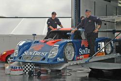 new livery on the #10 SunTrust Racing Pontiac Riley