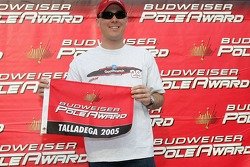 Pole winner Kevin Harvick