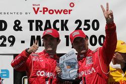 Luis Diaz and Scott Pruett