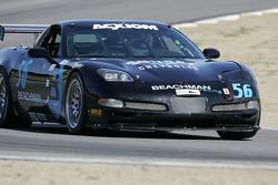 #56 Beachman Racing Corvette: Bruce Beachman, Will Diefenbach