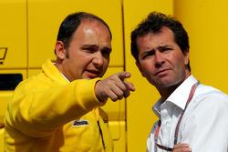 Jordan's Colin Kolles and Trevor Carlin