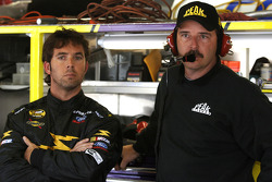 Hermie Sadler with crew chief Greg Conner