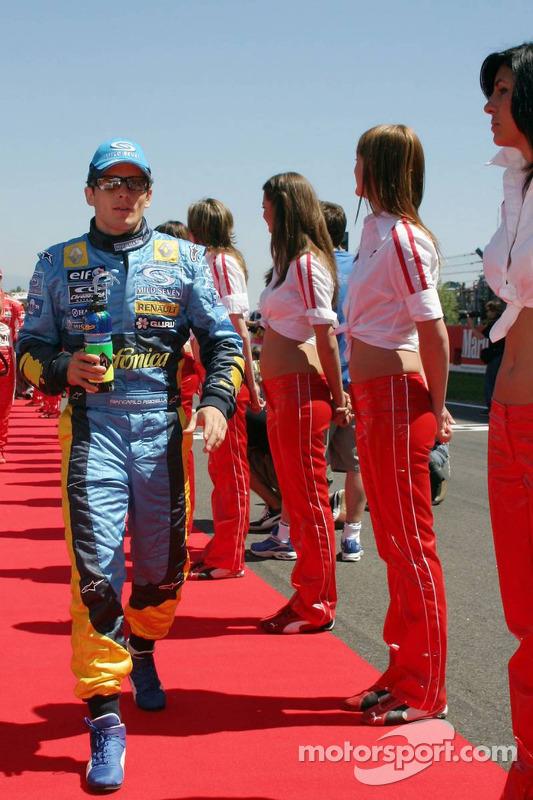 Présentation des pilotes : Giancarlo Fisichella