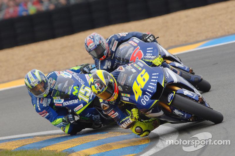 2005 : 1. Valentino Rossi, 2. Sete Gibernau, 3. Colin Edwards