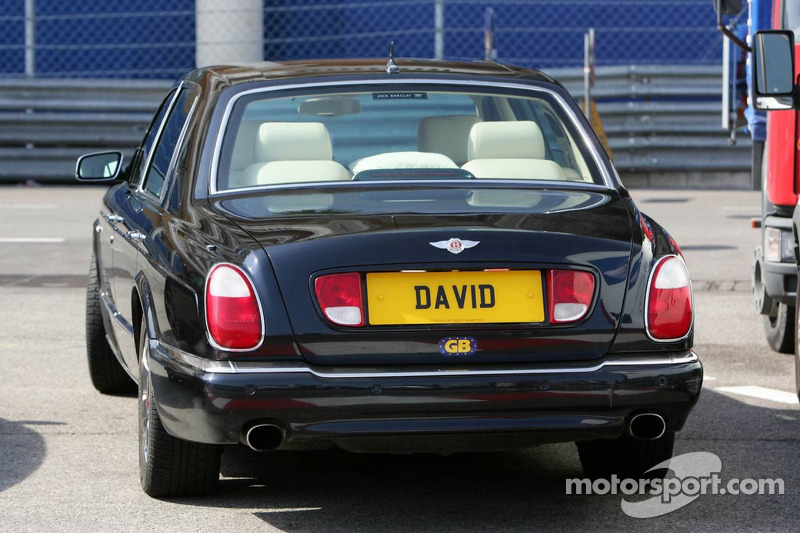 Bentley of David Coulthard?