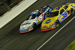 Mark Martin and Elliot Sadler