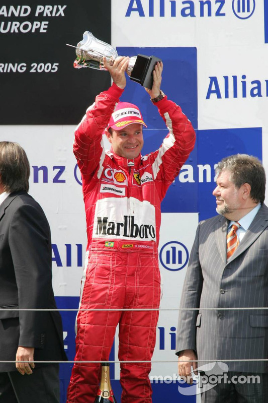 Podium : Rubens Barrichello