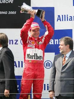 Podium: Rubens Barrichello