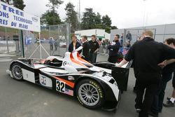 Intersport Racing Lola MG at scrutineering