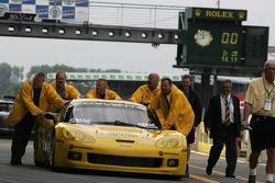 Corvette Racing team members