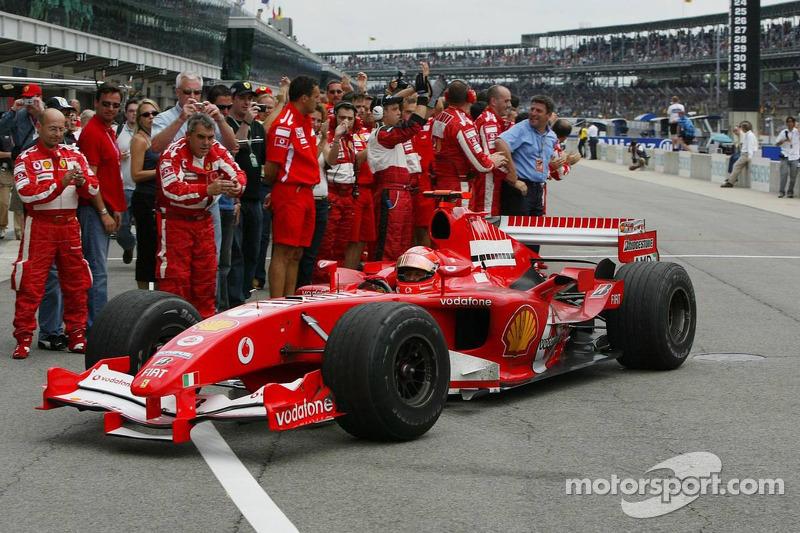 2005: Michael Schumacher (Ferrari F2005)