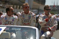 Marco Werner, JJ Lehto and Tom Kristensen