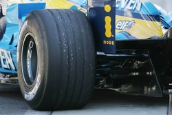 A Michelin tire