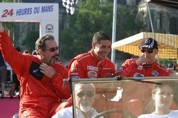 Jim Matthews, Stéphane Daoudi and Jean-René de Fournoux