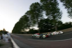 #58 Aston Martin Racing Aston Martin DBR9: Tomas Enge, Peter Kox, Pedro Lamy, #5 Jim Gainer International Dome Mugen: Ryo Michigami, Seiji Ara, Katsumoto Kaneishi