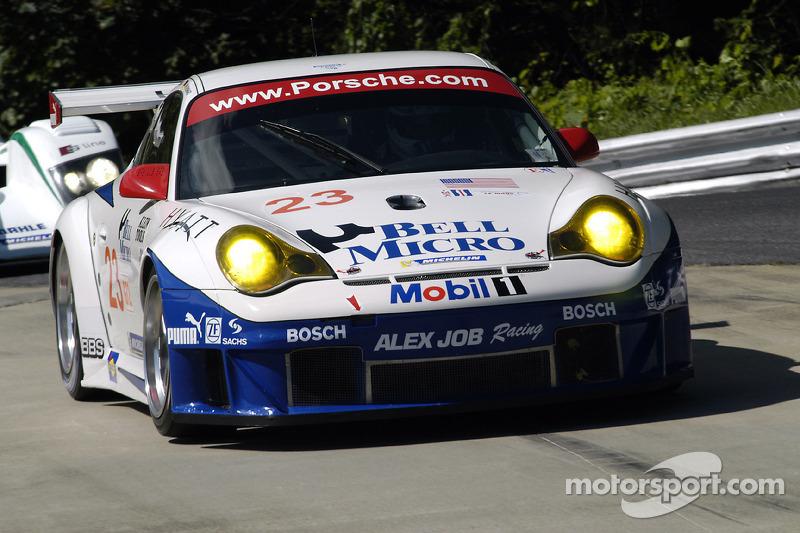 Alex Job Racing Porsche 911 GT3 RSR : Timo Bernhard, Romain Dumas