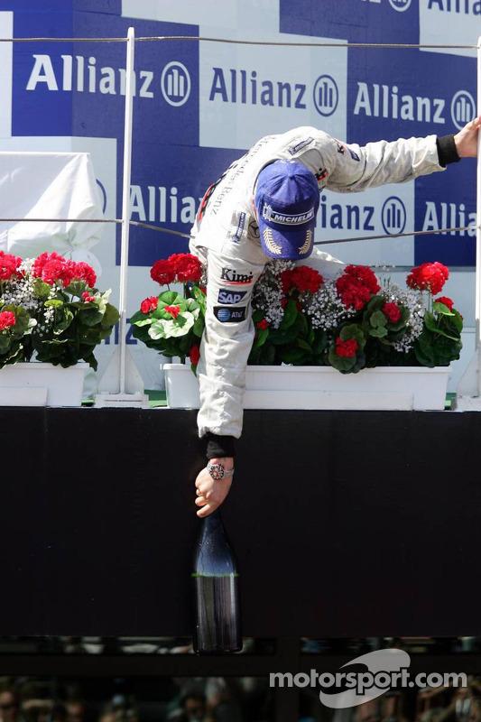 Podium : Kimi Raikkonen