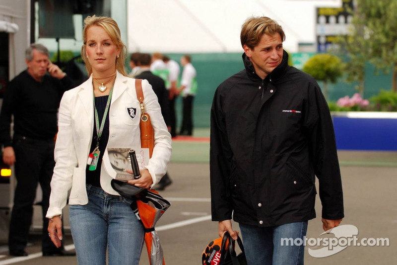 Christijan Albers and girlfriend Liselore