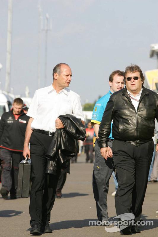 Ron Dennis y Norbert Haug