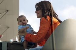Connie Montoya and baby boy Sebastian