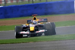 David Coulthard spins