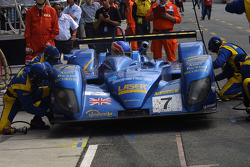 Pitstop for #7 Creation Autosportif DBA 03S Judd: Nicolas Minassian, Jamie Campbell-Walter