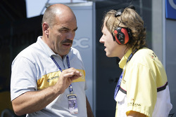 Race engineer Jacques Hendrikse