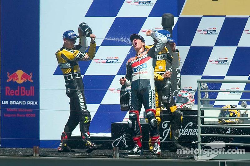 Laguna Seca 2005: Der 1. MotoGP-Sieg