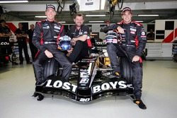 Robert Doornbos, Paul Stoddart and Christijan Albers
