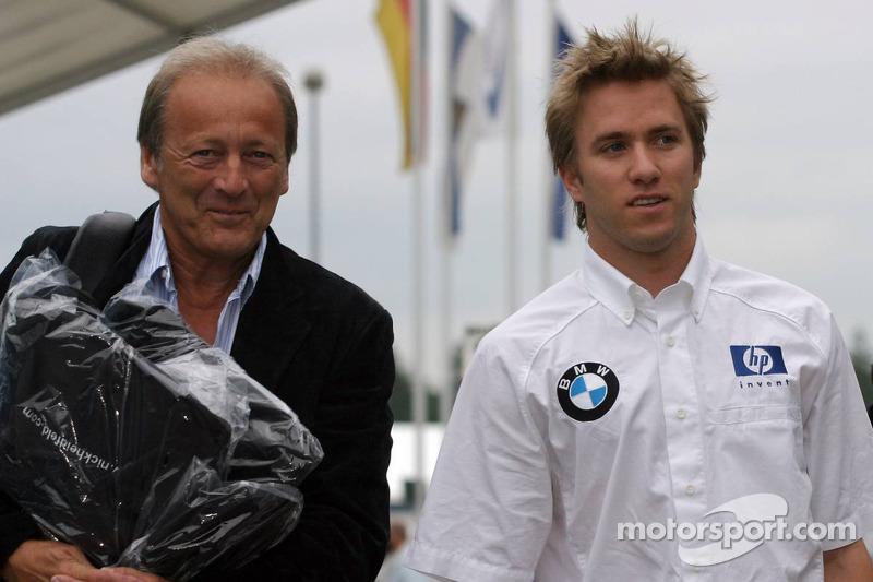 Nick Heidfeld y Werner Heinz