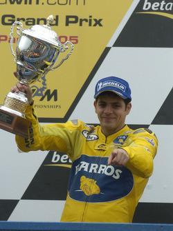 Podio: segundo lugar Alex Barros