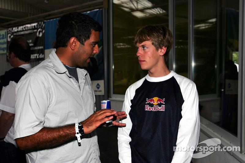 Red Bull Petit Prix en Manheim: Sebastian Vettel