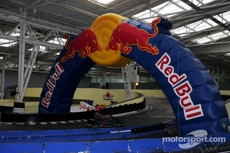 Red Bull Petit Prix en Manheim: acción de carrera