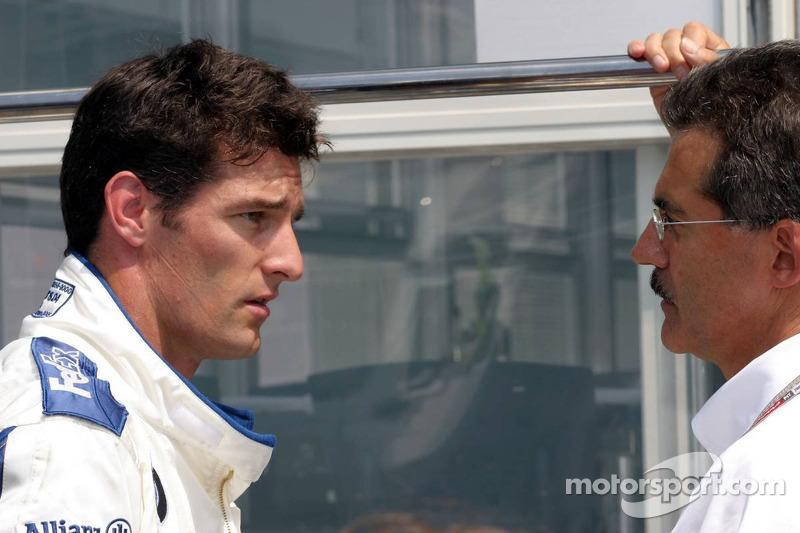 Mark Webber y Dr Mario Theissen