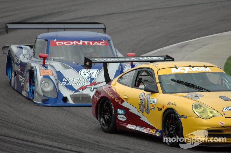 Alegra Motorsports Porsche GT3 Cup : Carlos de Quesada, Scooter Gabel;  Krohn Racing / TRG Pontiac Riley : Tracy Krohn, Nic Jonsson